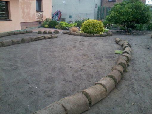 Trawniki z rolki i z siewu